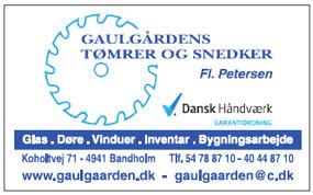Gaulgårdens Tømrer Snedker