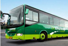 De Grønne Busser i Væggerløse, transport, turistrejser
